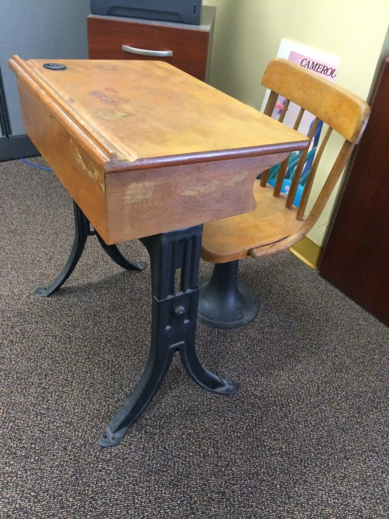 School Desk, a type of desk?