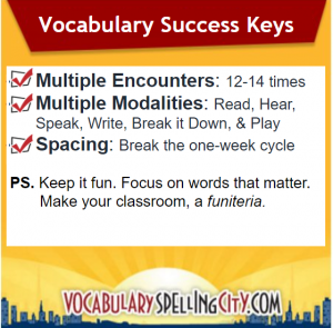 Keys to Vocabulary Success