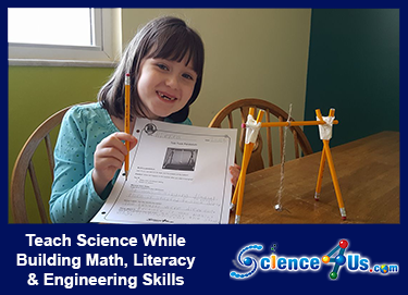 Teach science while building math, literacy, and engineering skills