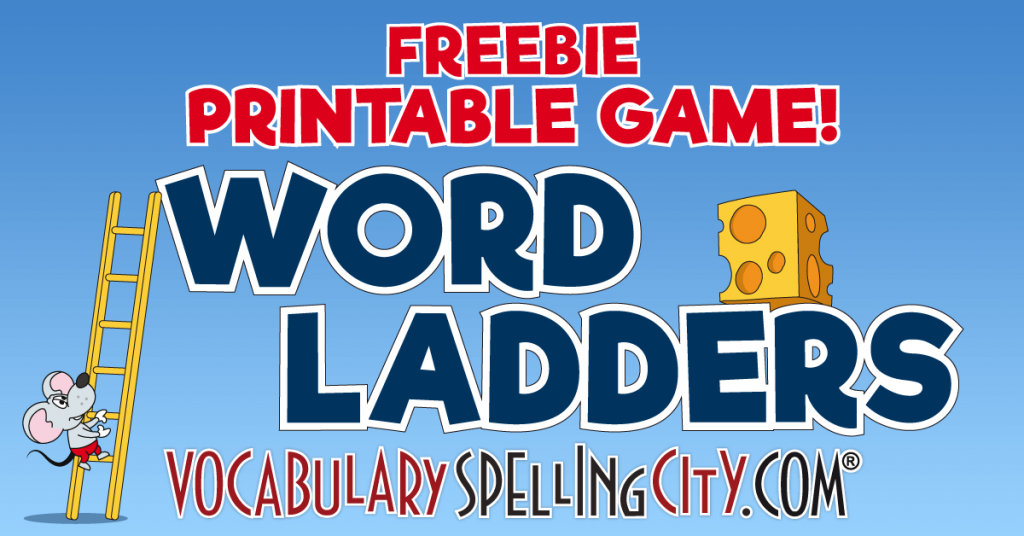 photograph relating to Word Ladders Printable known as Phrase Game titles that Perform: Fight Boredom with Video game-Centered Discovering