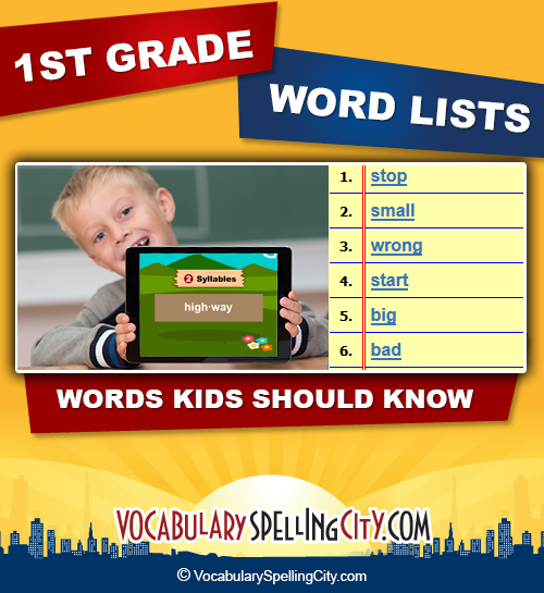 1st Grade Spelling Words First Lists. 1st Grade Spelling Words List. Worksheet. 1st Grade Spelling Words Worksheets At Clickcart.co