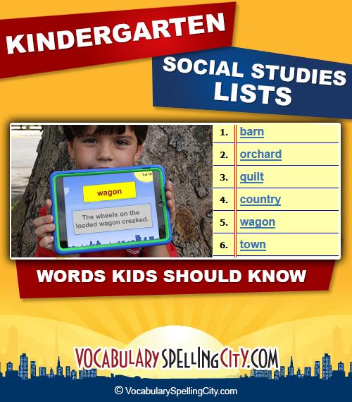 kindergarten social studies - Social Studies Kindergarten
