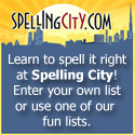 Spelling City makes practicing for spelling tests fun!