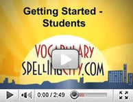 Getting Started with VocabularySpellingCity
