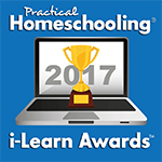 Practical Homeschooling i-Learn Award 2017 - Tied for First Place