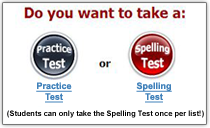 Practice or Spelling Test